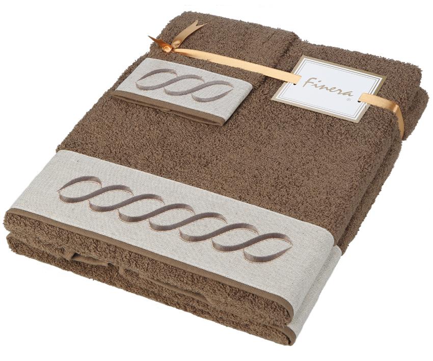 Dárkový set ručníků Infinito Brown