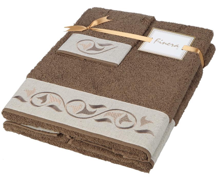Dárkový set ručníků Calla Brown