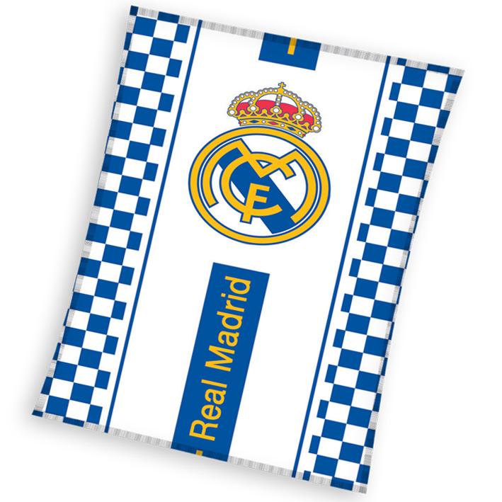 Dětská deka Real Madrid Check