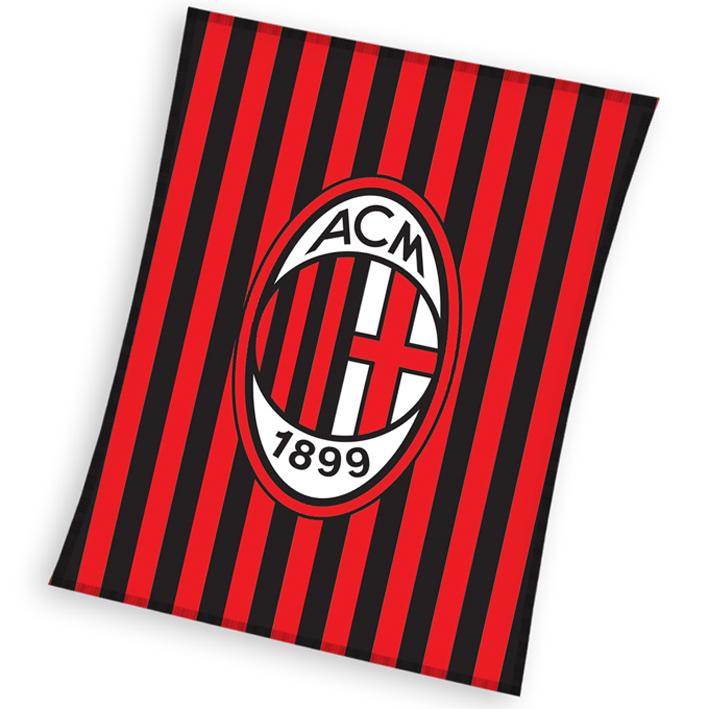 Image of Dětská deka AC Milán Stripes