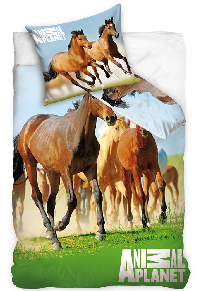 Povlečení Animal Planet - Divocí Koně