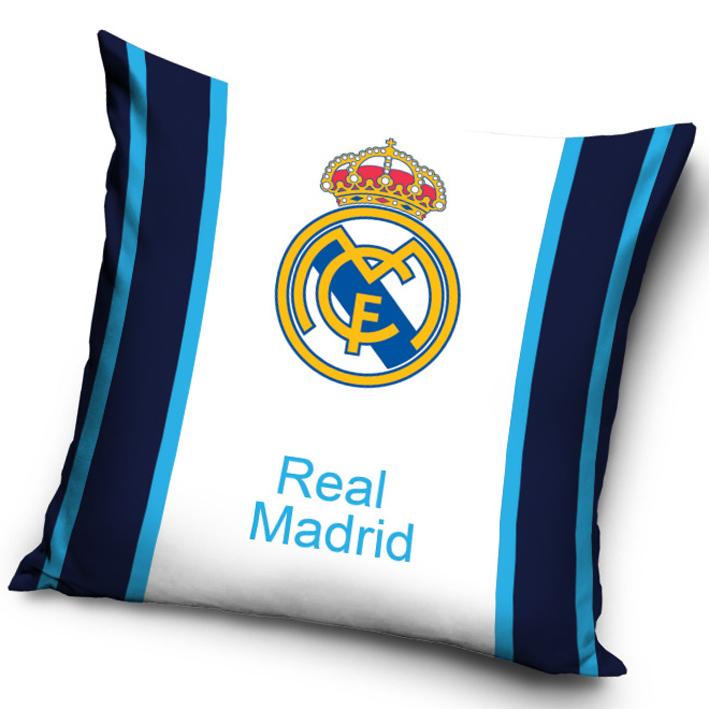 Povlak na polštářek Real Madrid Blue Stripes