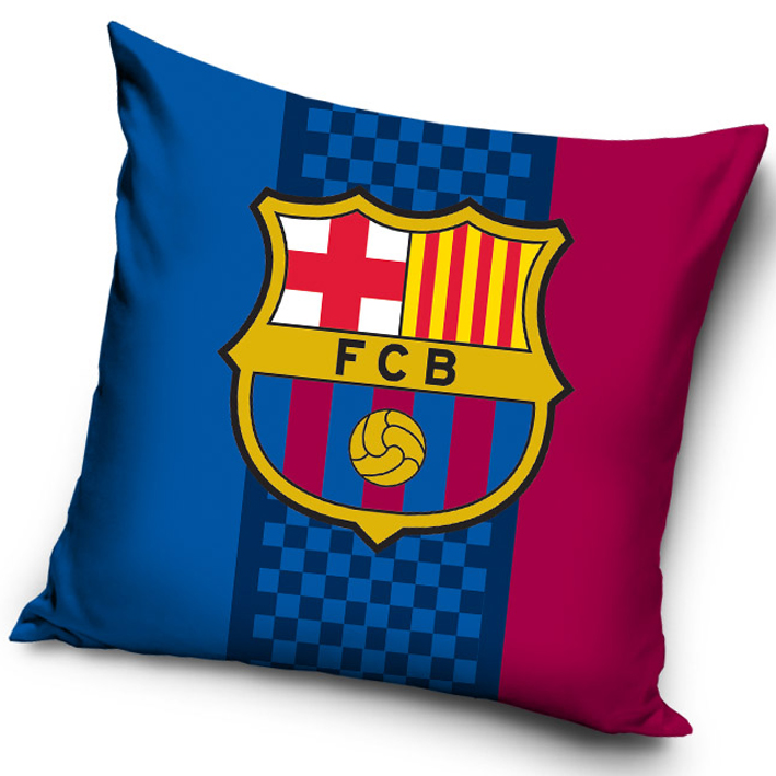 Povlak na polštářek FC Barcelona Trio