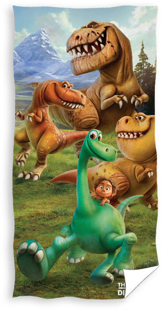 Dětská osuška Hodný Dinosaurus