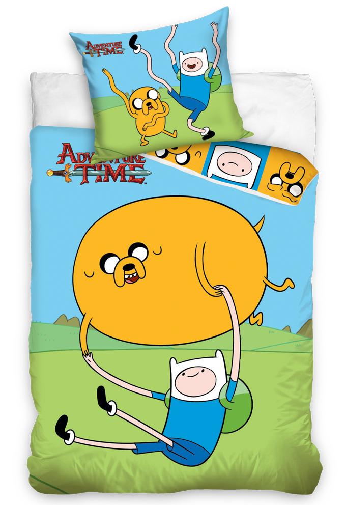 Povlečení Adventure Time - Čas na dobrodružství