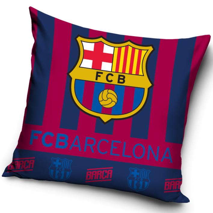 Povlak na polštářek FC Barcelona znak