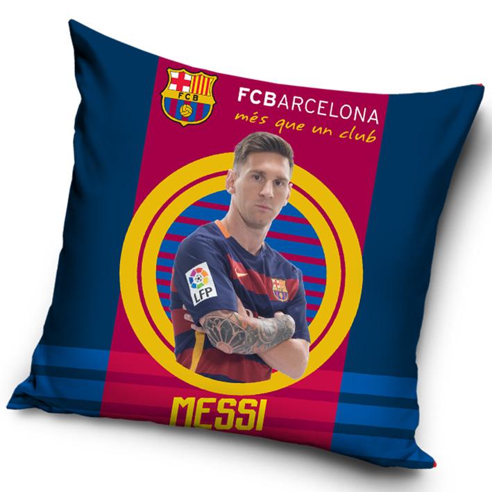 Povlak na polštářek FC Barcelona Messi 2016