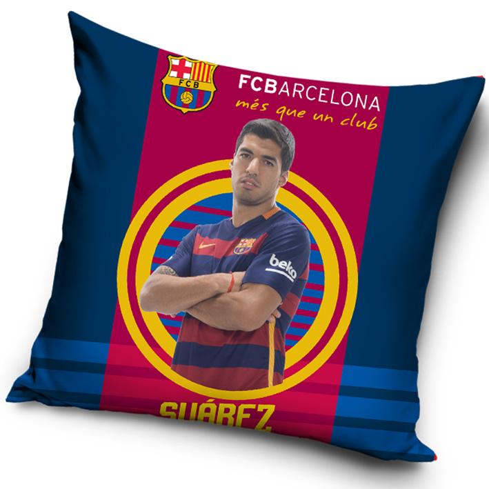 Povlak na polštářek FC Barcelona Suárez 2016