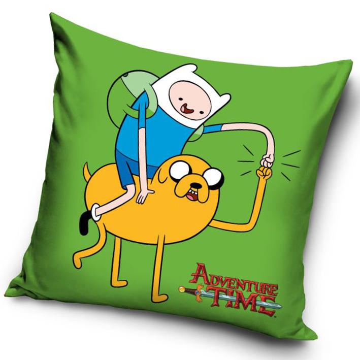 Polštářek Adventure Time - Finn a Jake