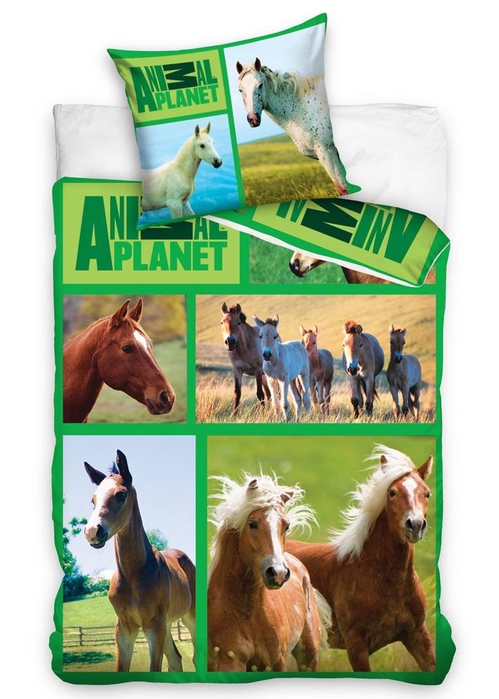 Povlečení Animal Planet - Koně na louce