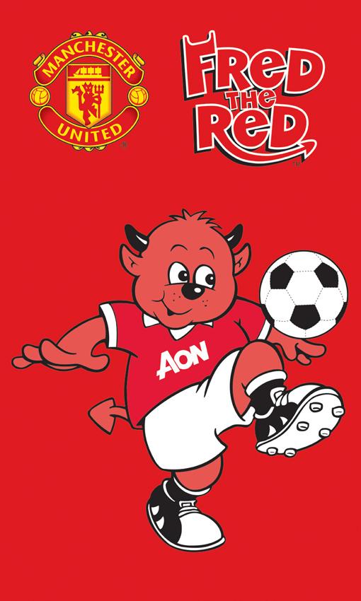 Dětský ručník Manchester United - 30x50 cm