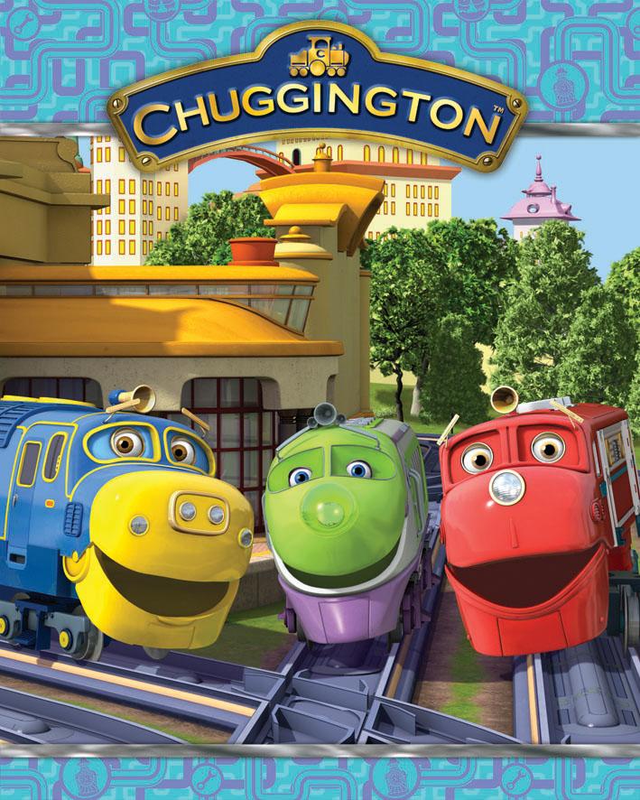 Dětská deka Chuggington - Vláčky