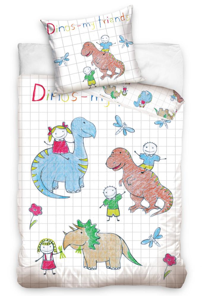 Dětské povlečení Dino