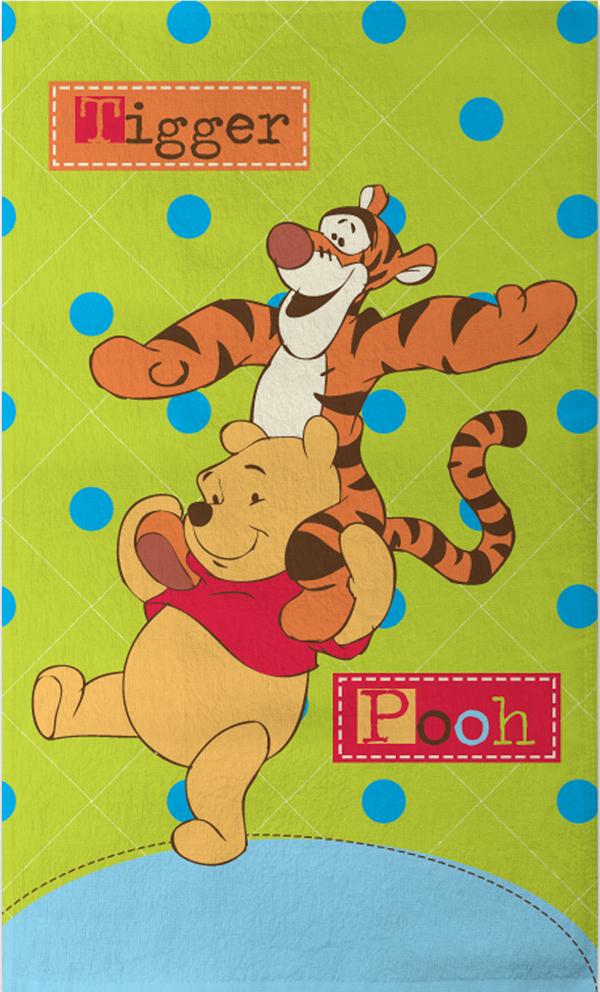 Dětský ručník Medvídek Pů - 30x50 cm