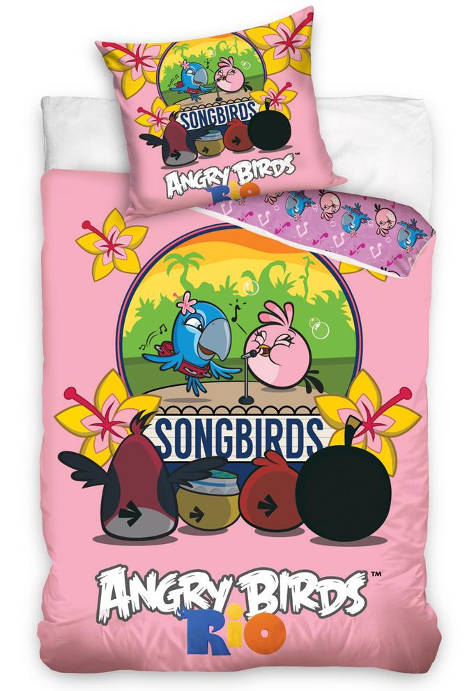 Povlečení Angry Birds Karaoke