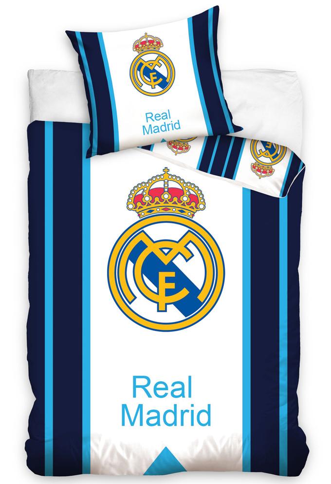 Povlečení Real Madrid Blue Stripes
