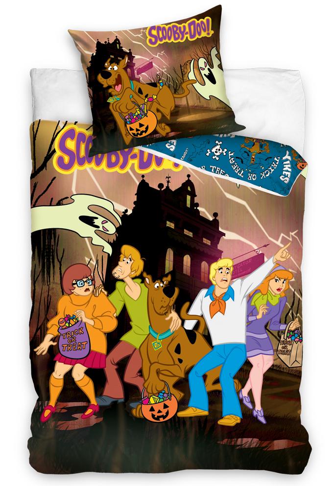 Dětské povlečení Scooby Doo Halloween