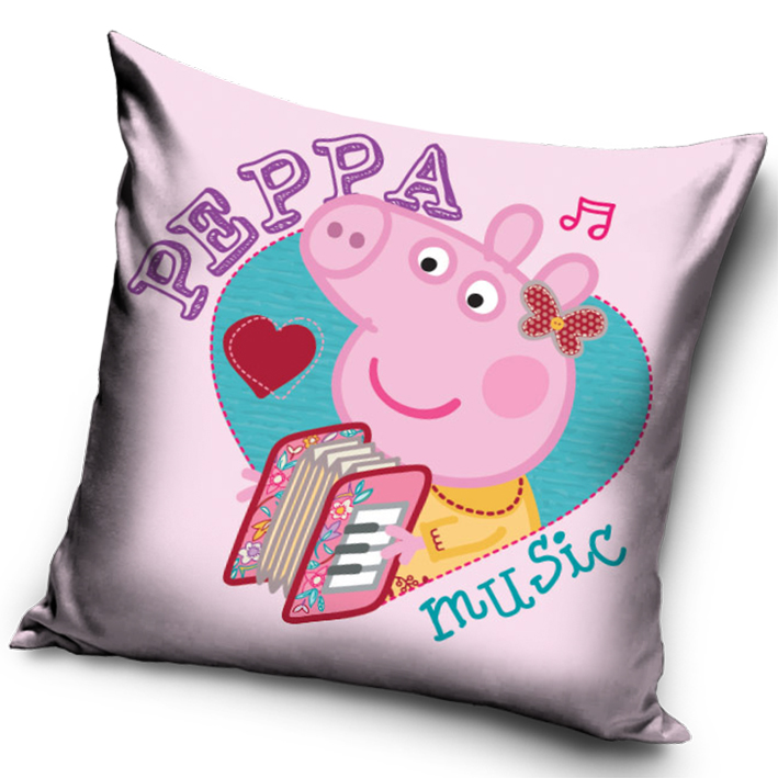Polštářek Prasátko Pepina Music