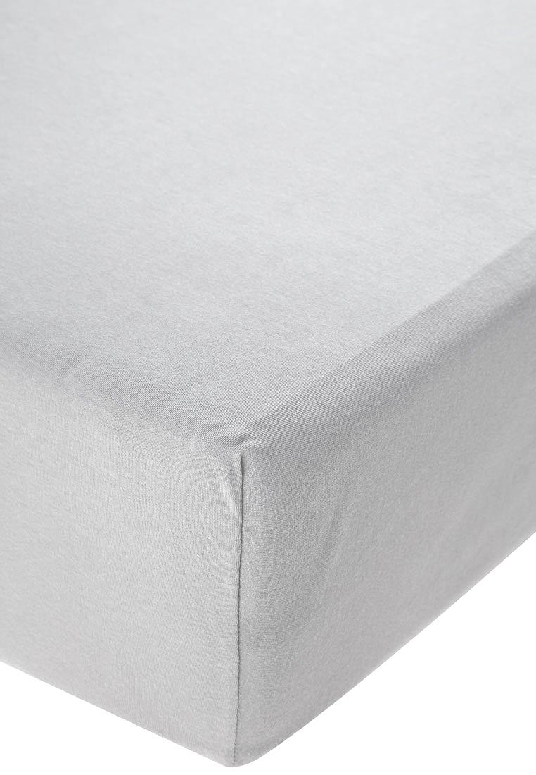 Jersey prostěradlo s elastanem šedé Rozměr: 200x220 cm