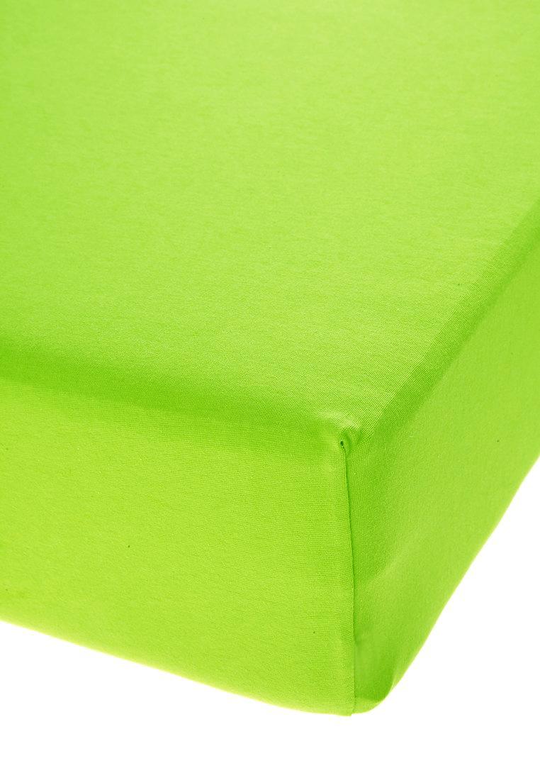Jersey prostěradlo s elastanem limetkové Rozměr: 70x140 cm
