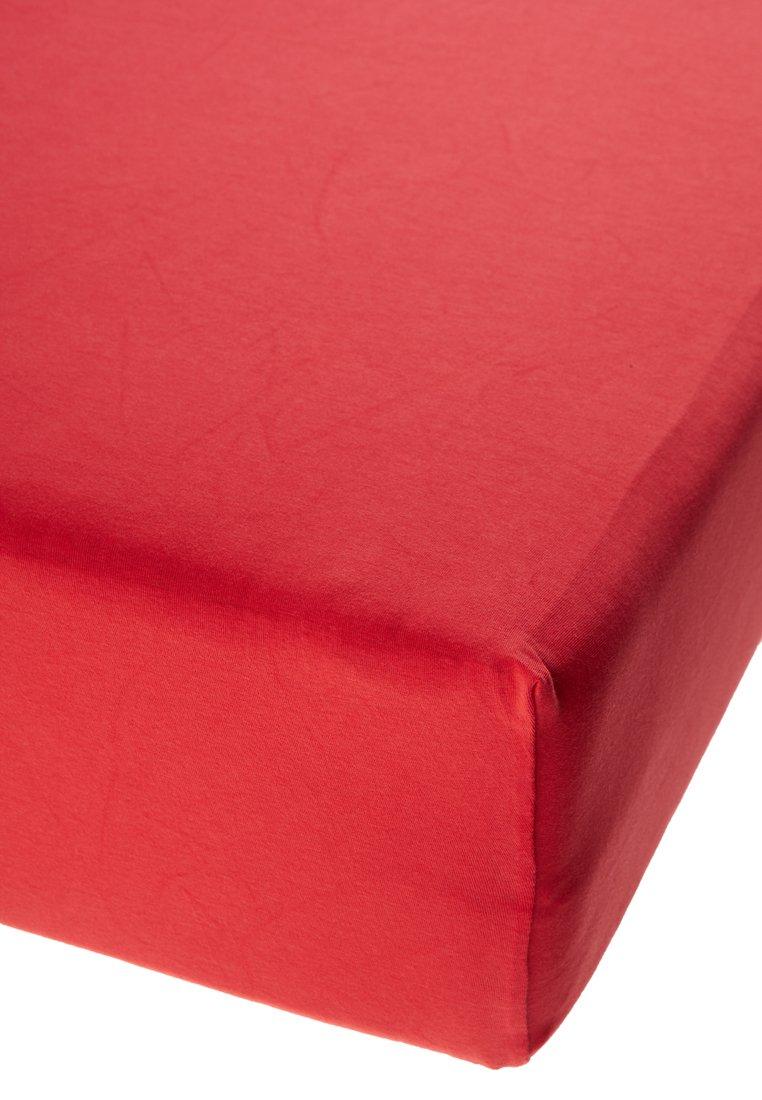 Jersey prostěradlo s elastanem červené Rozměr: 60x120 cm