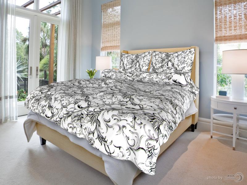 Bavlněný povlak na polštář Zuzana - Bílé Rozměr: 70x90 cm