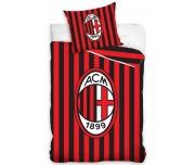 Fotbalové povlečení AC Milán Stripes