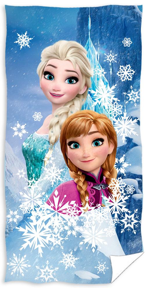 Dětská osuška Ledové Království Anna a Elsa