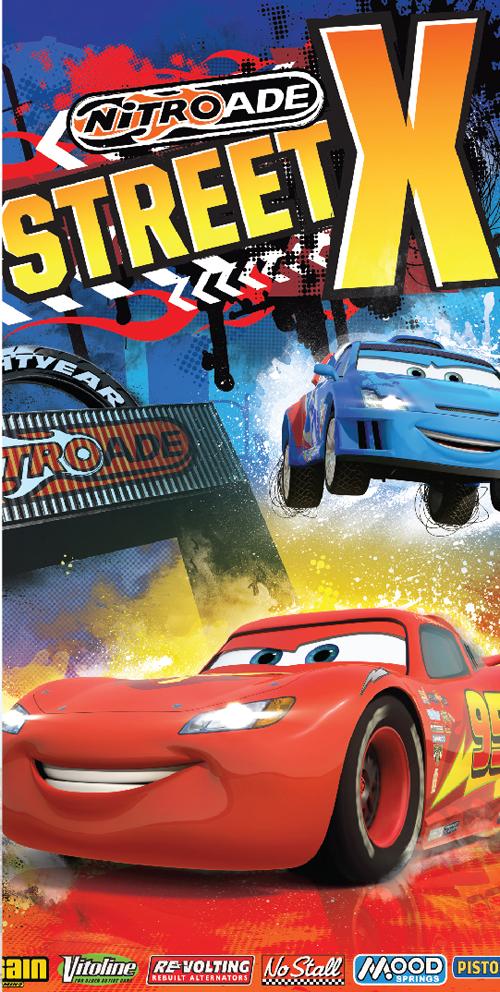 Dětská osuška Cars Street X