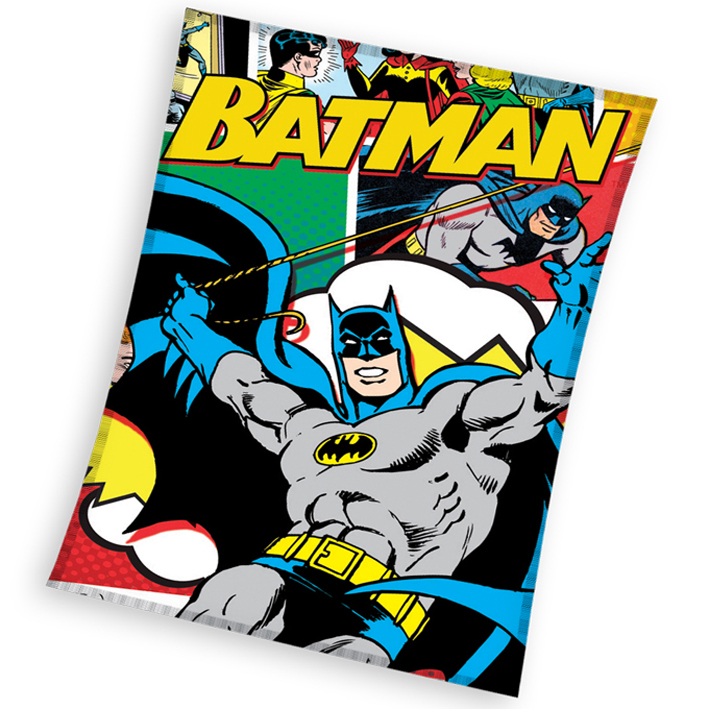 Dětská deka Batman Komiks