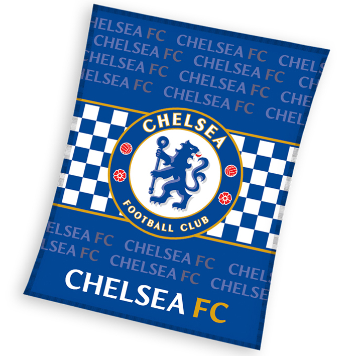Dětská deka Chelsea FC Check