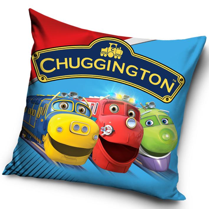 Polštářek Chugginton veselé vláčky - přátelé