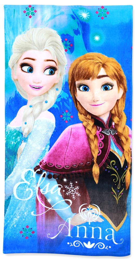 Dětská osuška Ledové Království Elsa a Anna