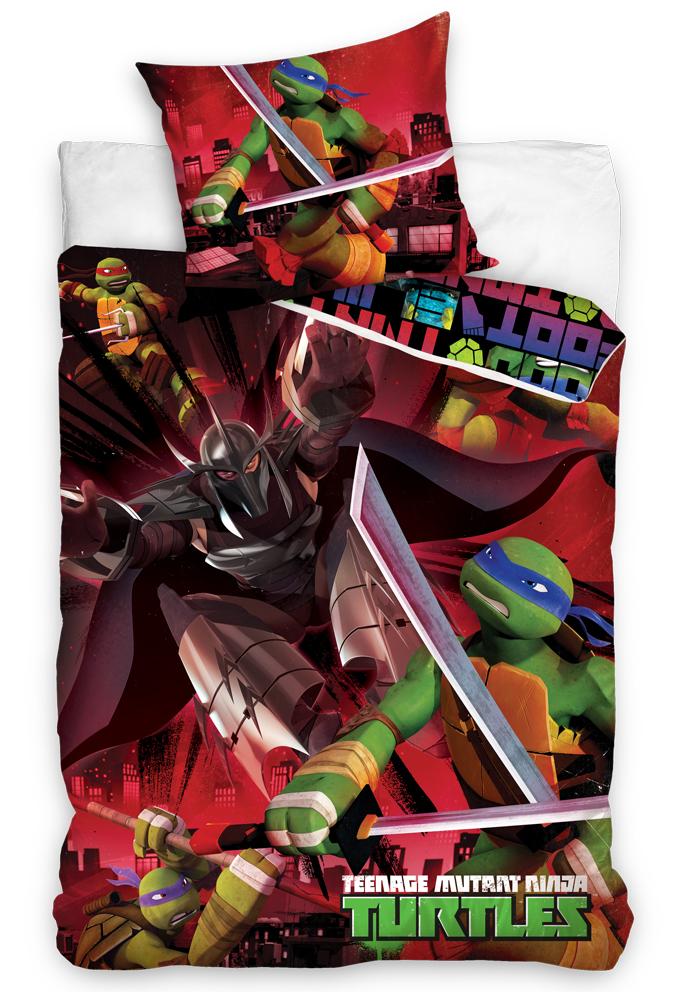 Povlečení Želvy Ninja a Trhač
