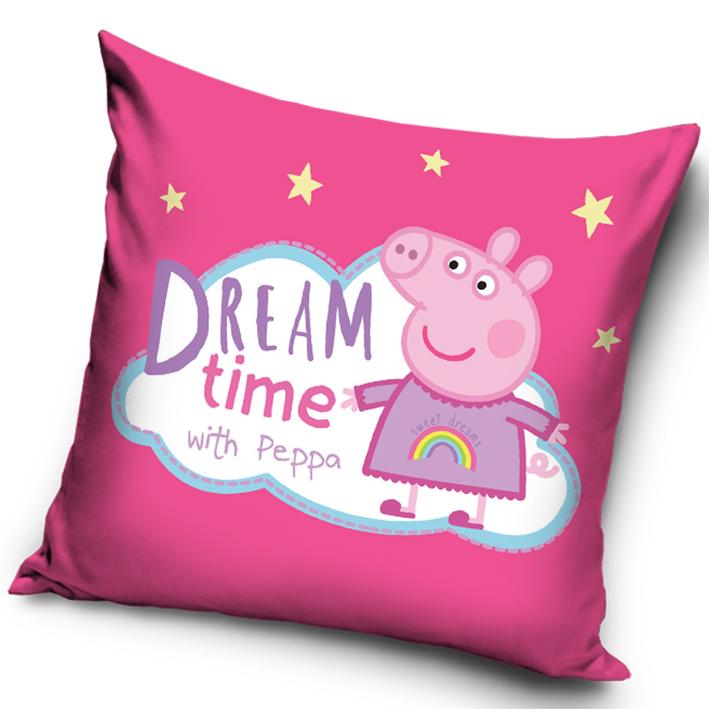 Povlak na polštářek Prasátko Pepina Dream Time