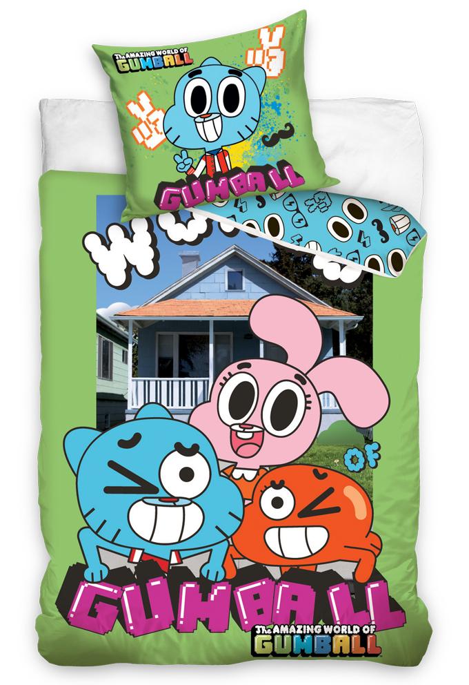 Dětské povlečení Gumballův úžasný svět