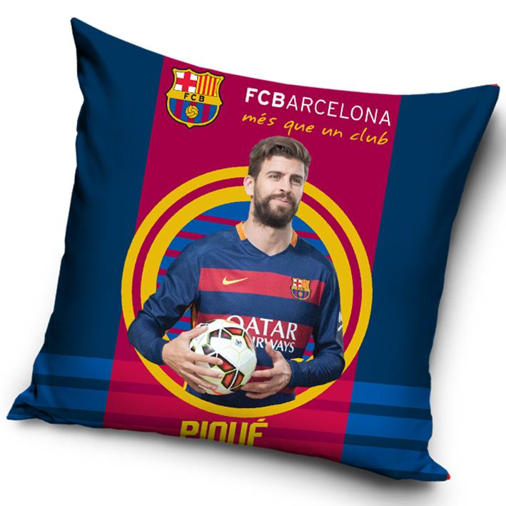 Povlak na polštářek FC Barcelona Piqué 2016