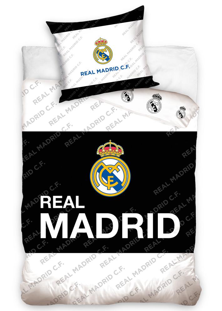 Fotbalové povlečení Real Madrid Black Belt