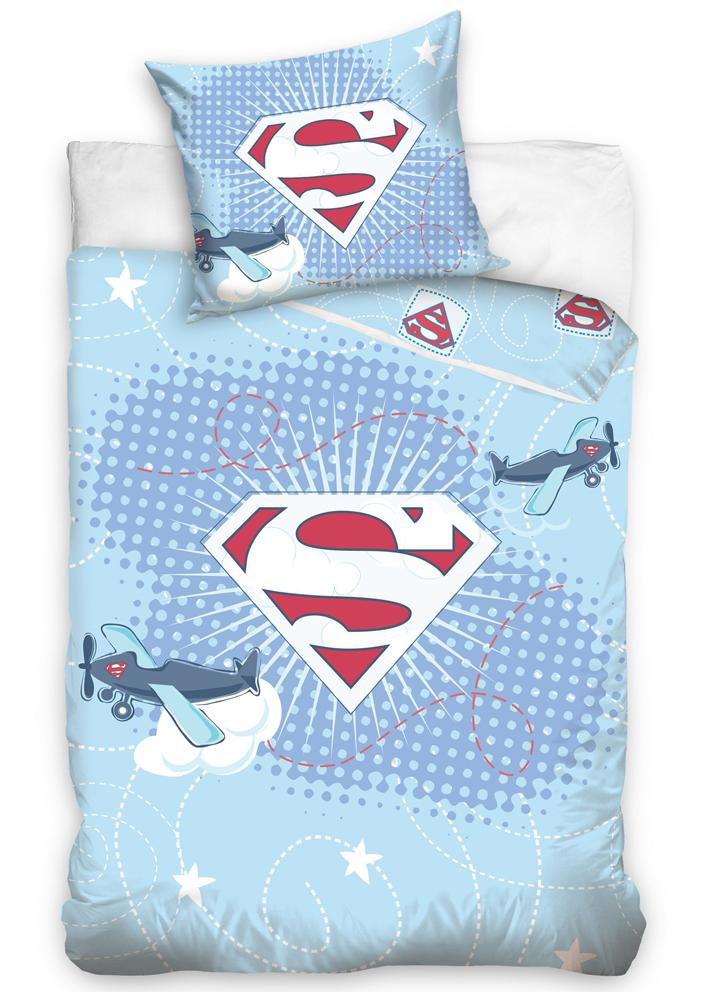 Povlečení do postýlky Little Superman