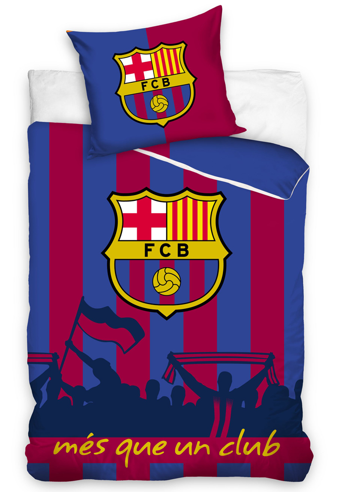 Povlečení FC Barcelona Més que un club