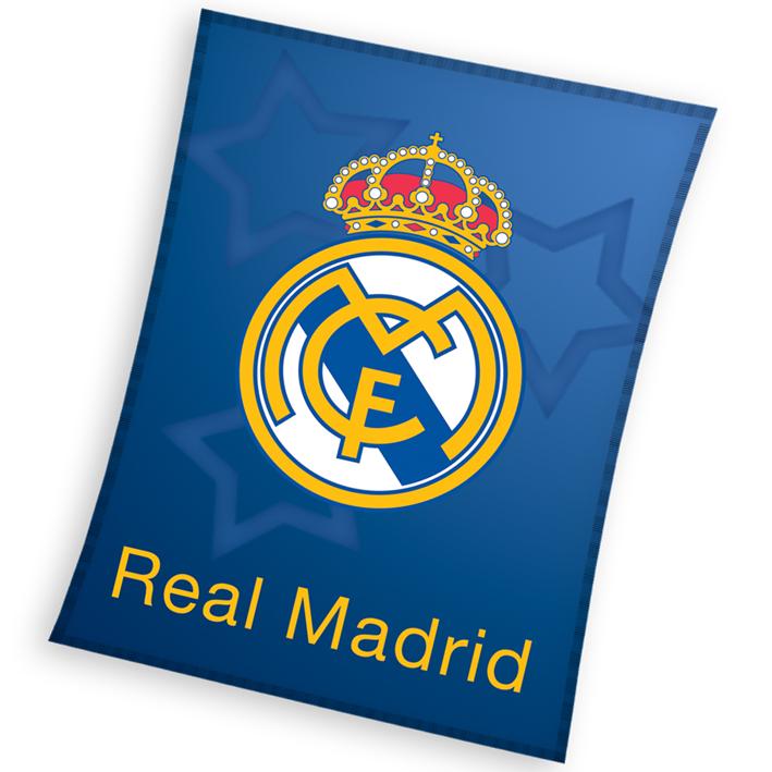 Dětská deka Real Madrid Blue Stars