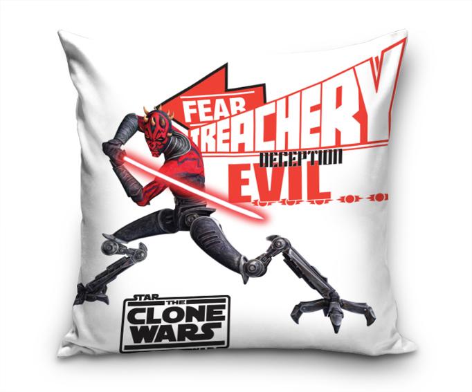 Polštářek Clone Wars Evil