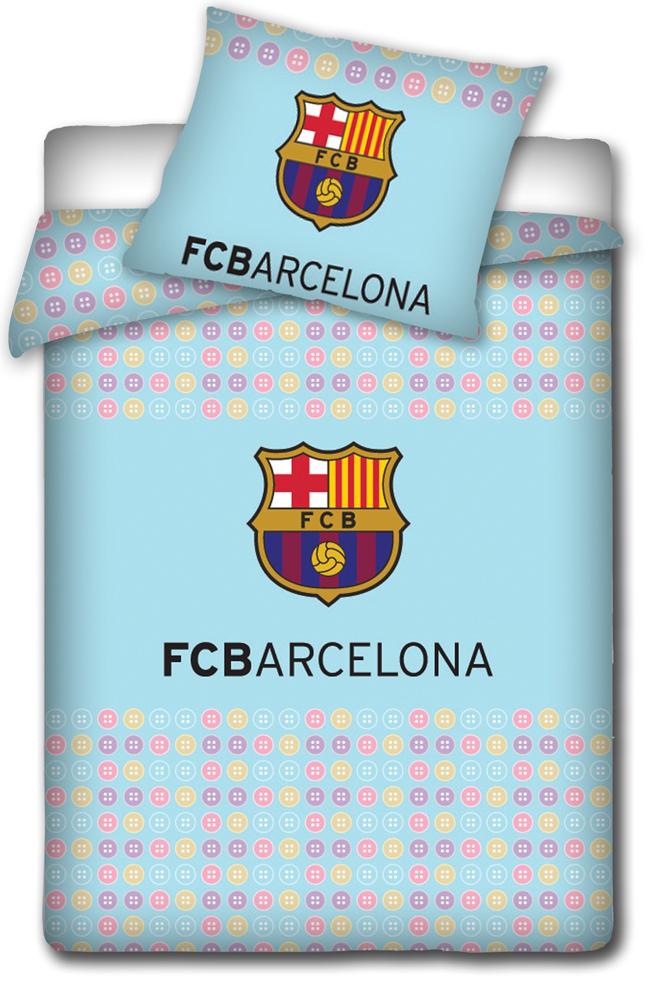 Povlečení do postýlky FC Barcelona - Knoflíky