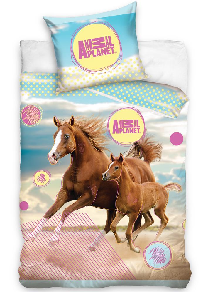 Dětské povlečení Animal Planet - Koně