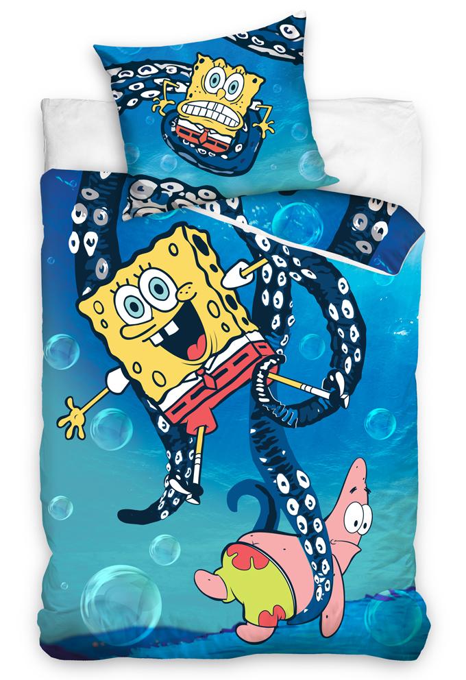 Dětské povlečení SpongeBob - Chobotnice