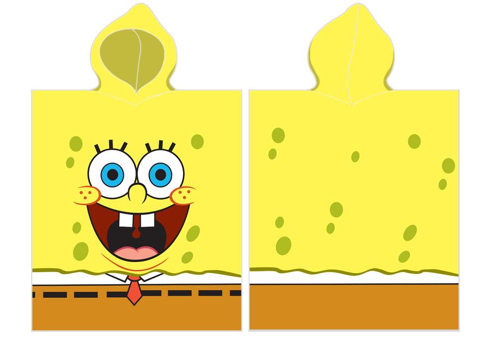 Dětské pončo Sponge Bob