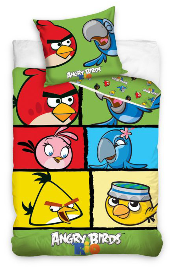 Povlečení Angry Birds Check