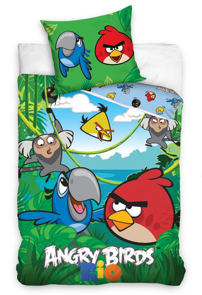 Povlečení Angry Birds Jungle