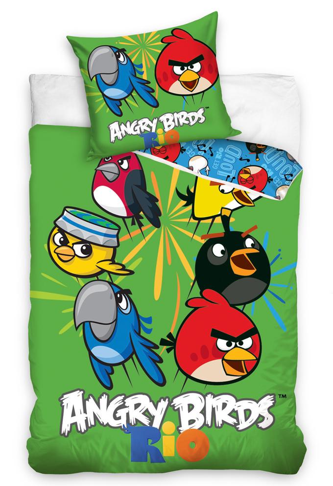 Povlečení Angry Birds Mix