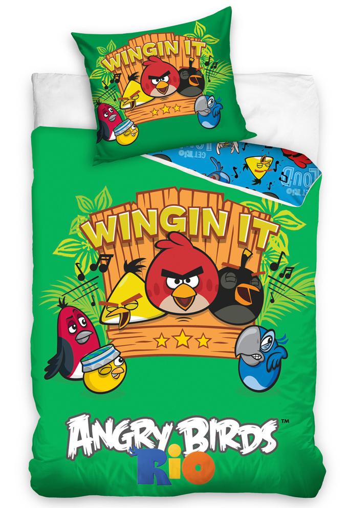 Povlečení Angry Birds Music